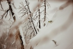 Dan Treadway at Great Canadian Heli Skiing, Rogers Pass, BC