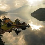 adventure journal weekend cabin telemark norway