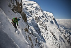 Jimmy Chin Skiing in Chamonix, France