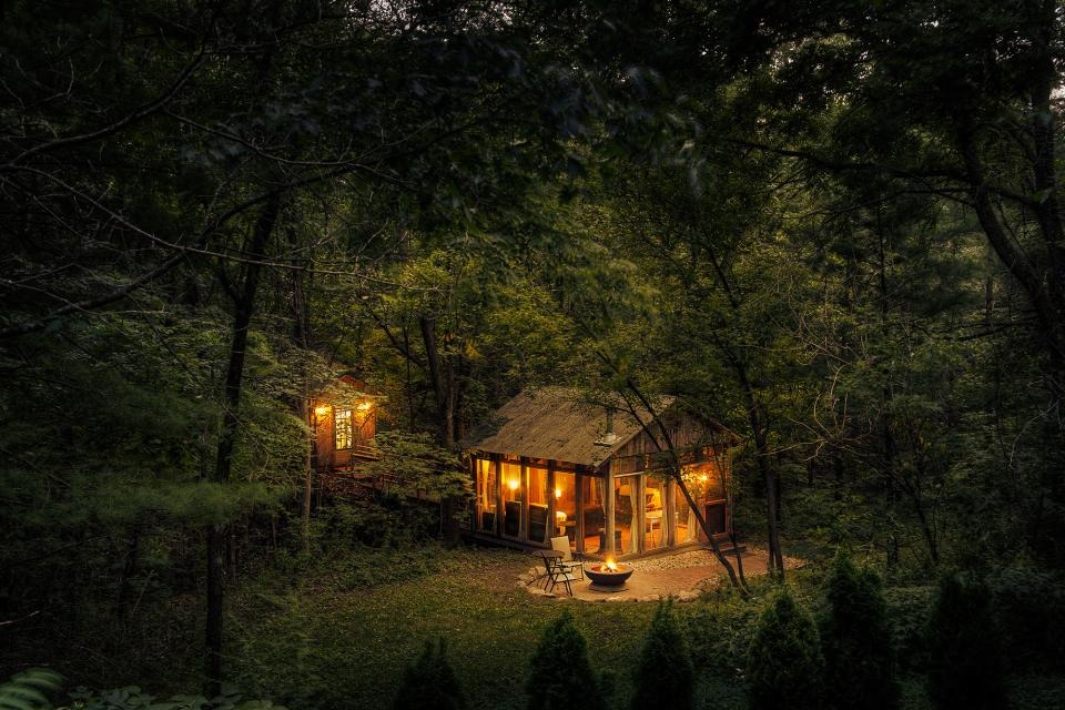 Glass House Wisconsin : Adventure journal candlewood cabins richland center