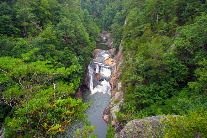 adventure journal most beautiful day hikes in america tallulah gorge