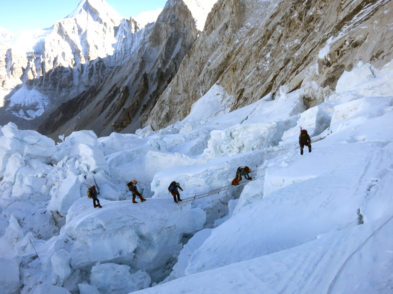 adventure journal navigating khumbu icefall