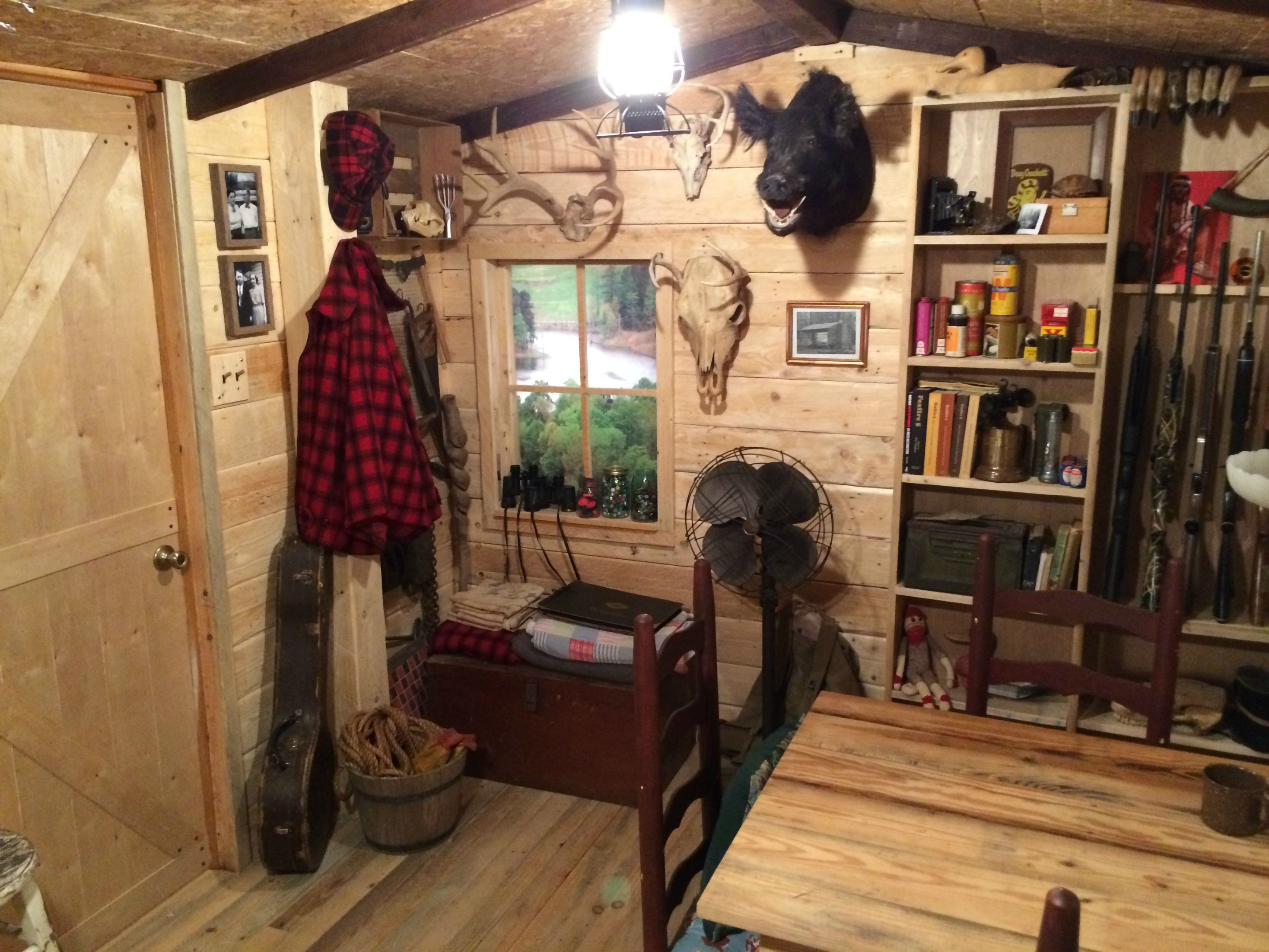 Man Cave Cabin Ideas : The man cave 'cabin' that has to be seen believed adventure