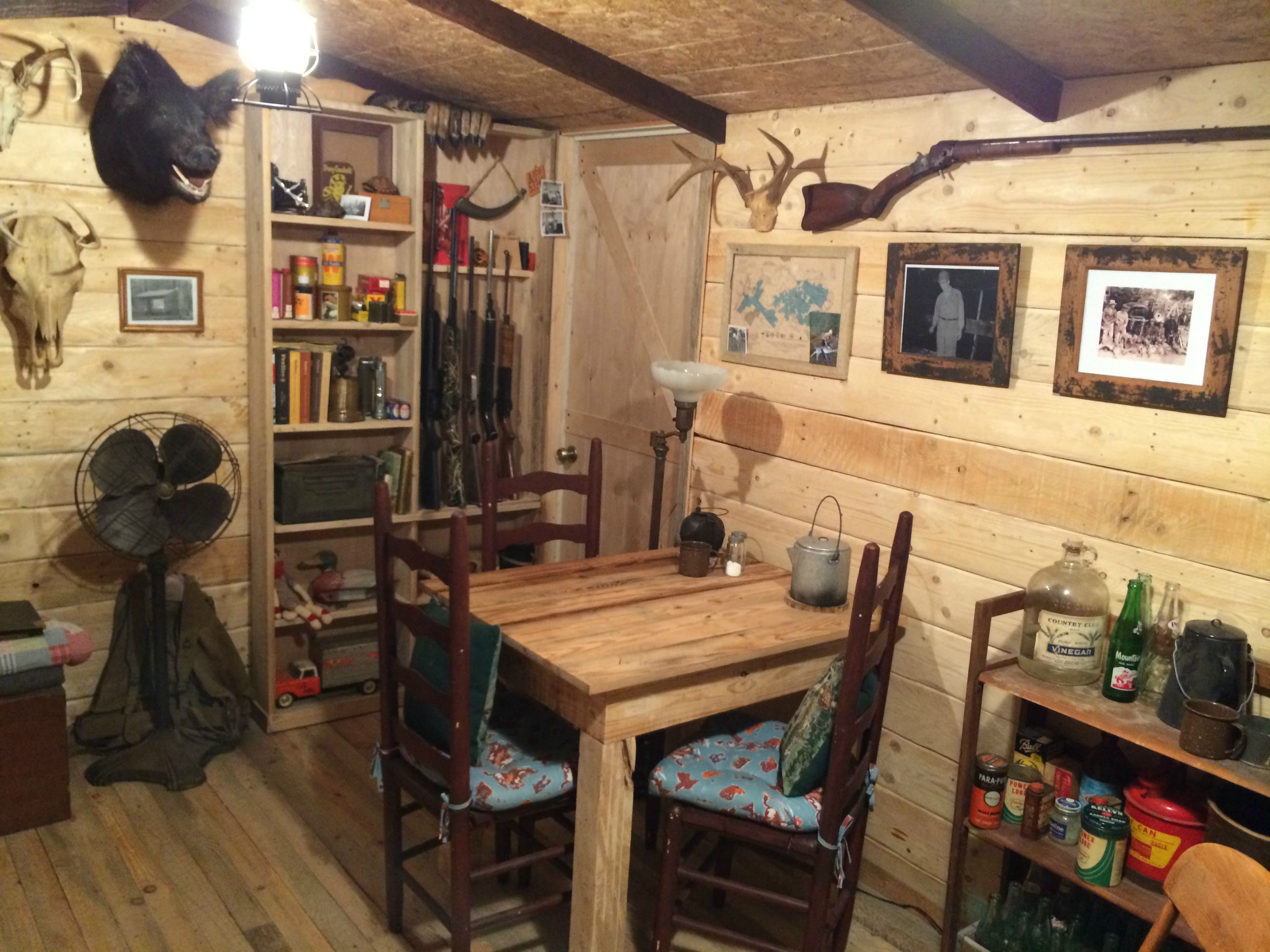 The Man Cave Store Red Deer : The man cave cabin that has to be seen believed