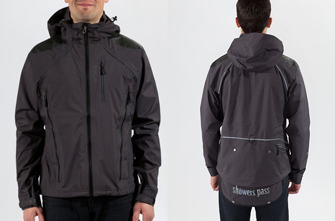The Refuge works brilliantly for commuting and mountain biking--the drop tail rear is just one of many key features. Very effective vents, a detachable hood, velcro cuffs, drawstring hem, plenty of pockets and generous reflective highlights round out the package.