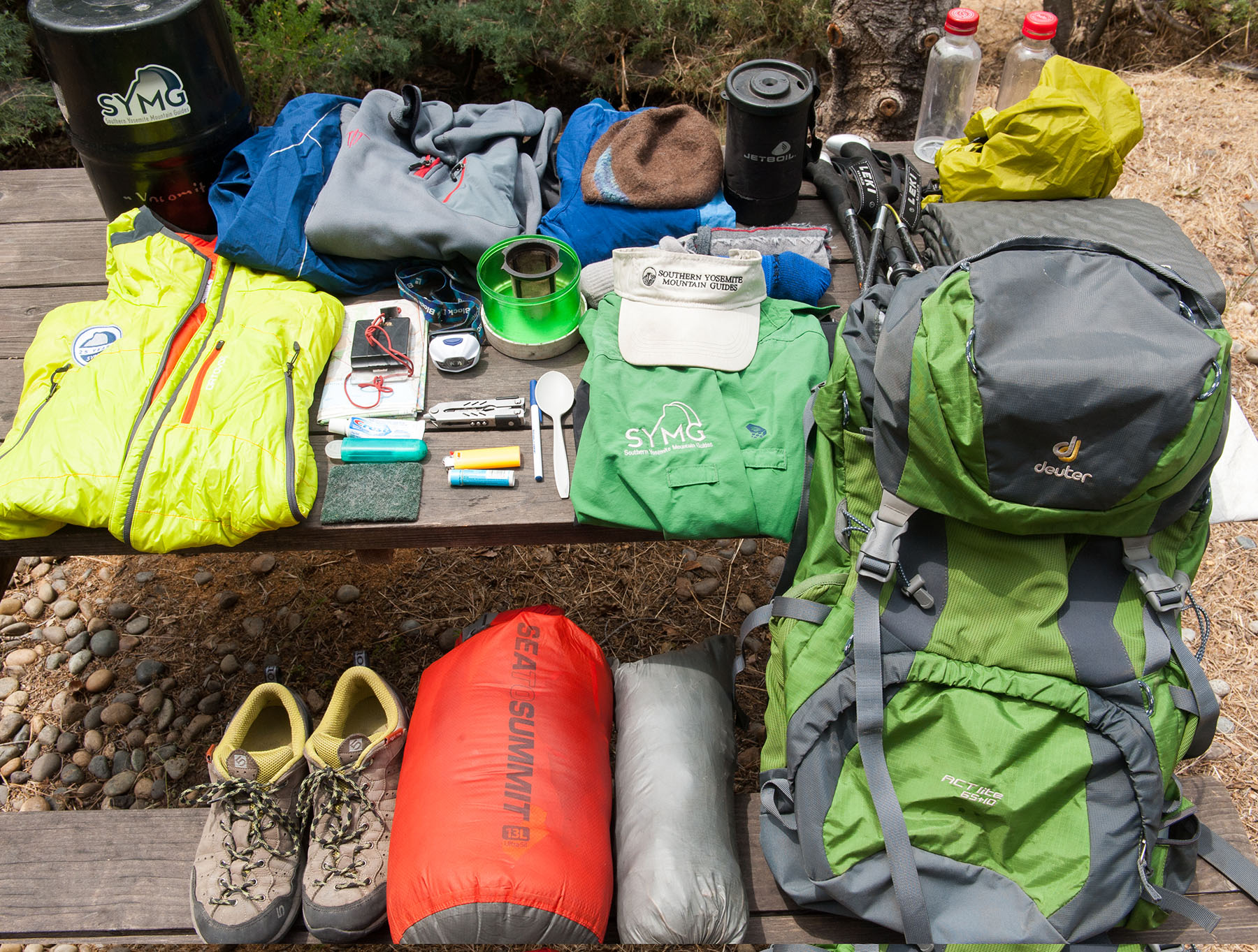 What's in a John Muir Trail Guide's Pack? - adventure journal