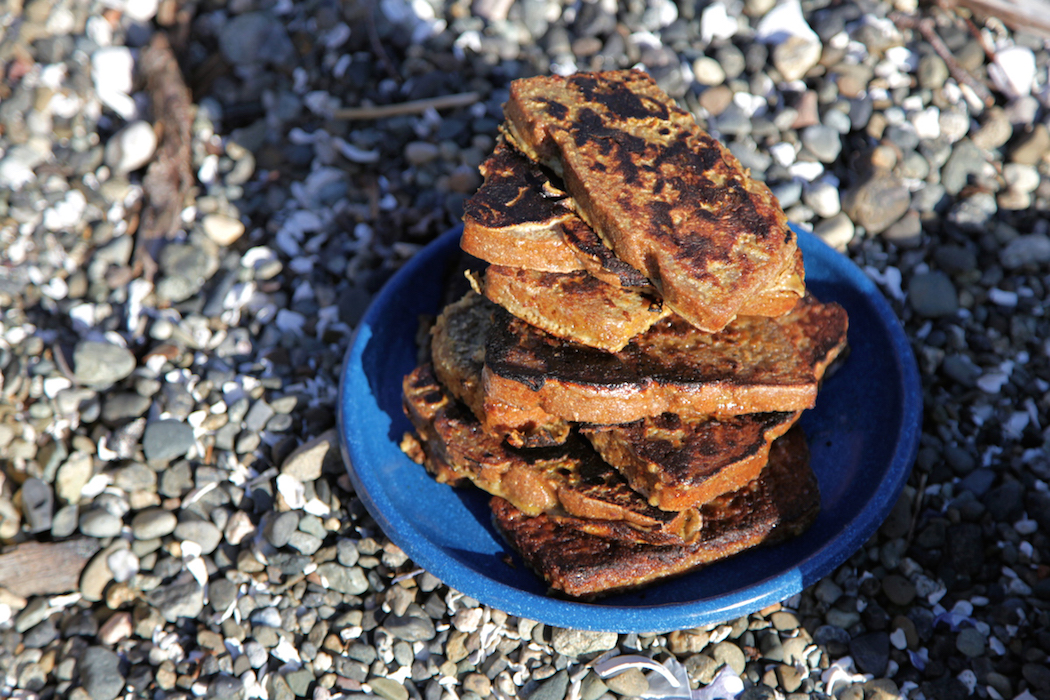 Yum! How to Make Backcountry French Toast