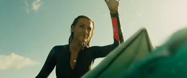 Blake Lively Fights Shark With Knife and Flare Gun