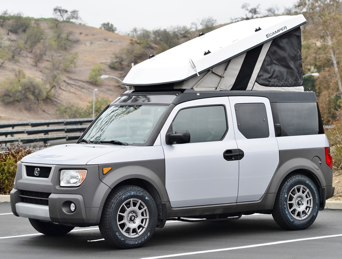 Overlandia & Turn Your Honda Element into a Hotelement - adventure journal