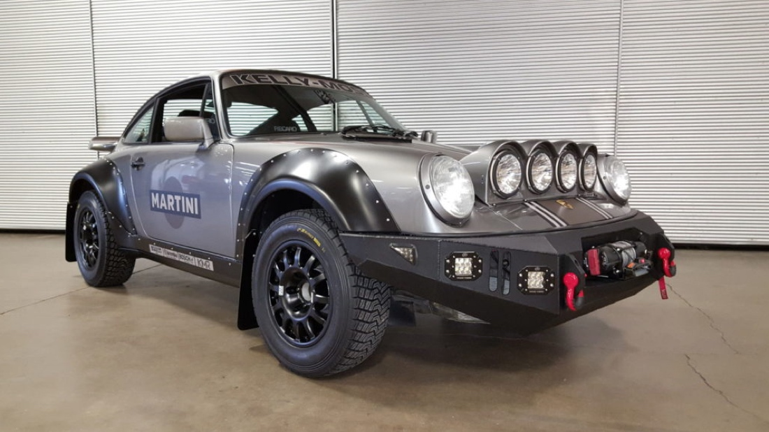 Why Use a Truck When You Can Off-Road a Porsche? -