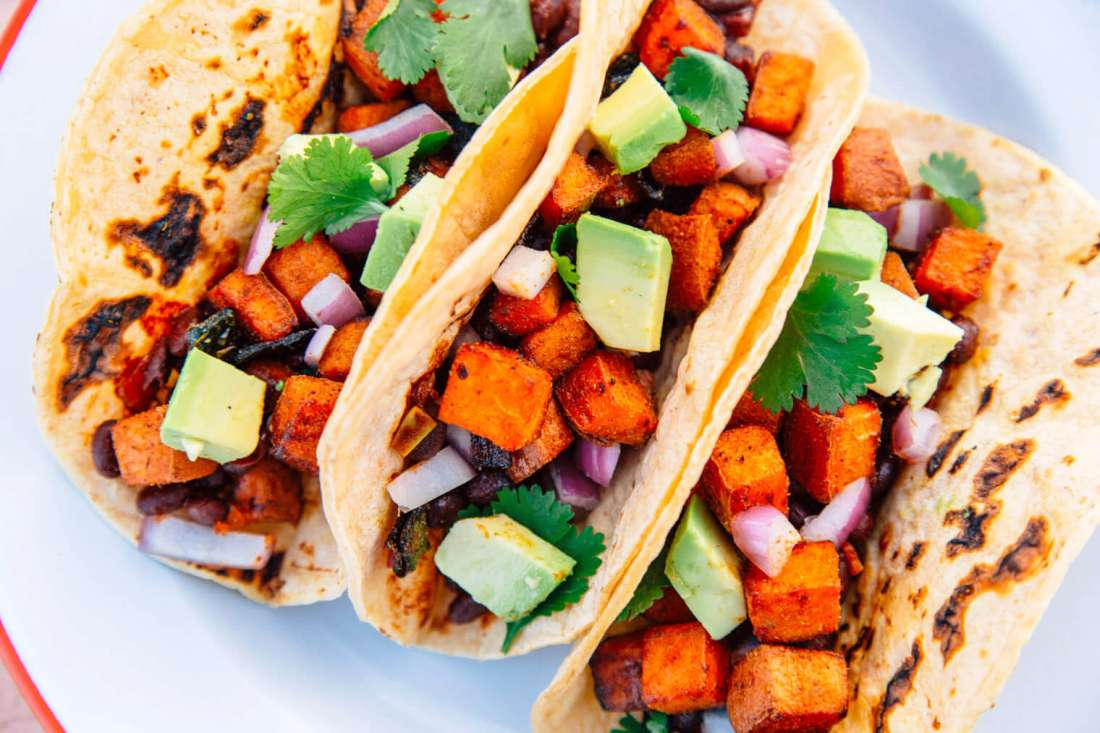 Hungry Camper? Try These Sweet Potato Campfire Tacos
