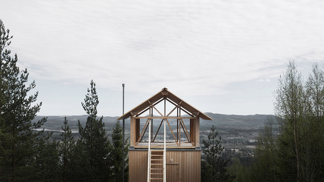Stilted Swedish Cabin Asks How Much You Really Need
