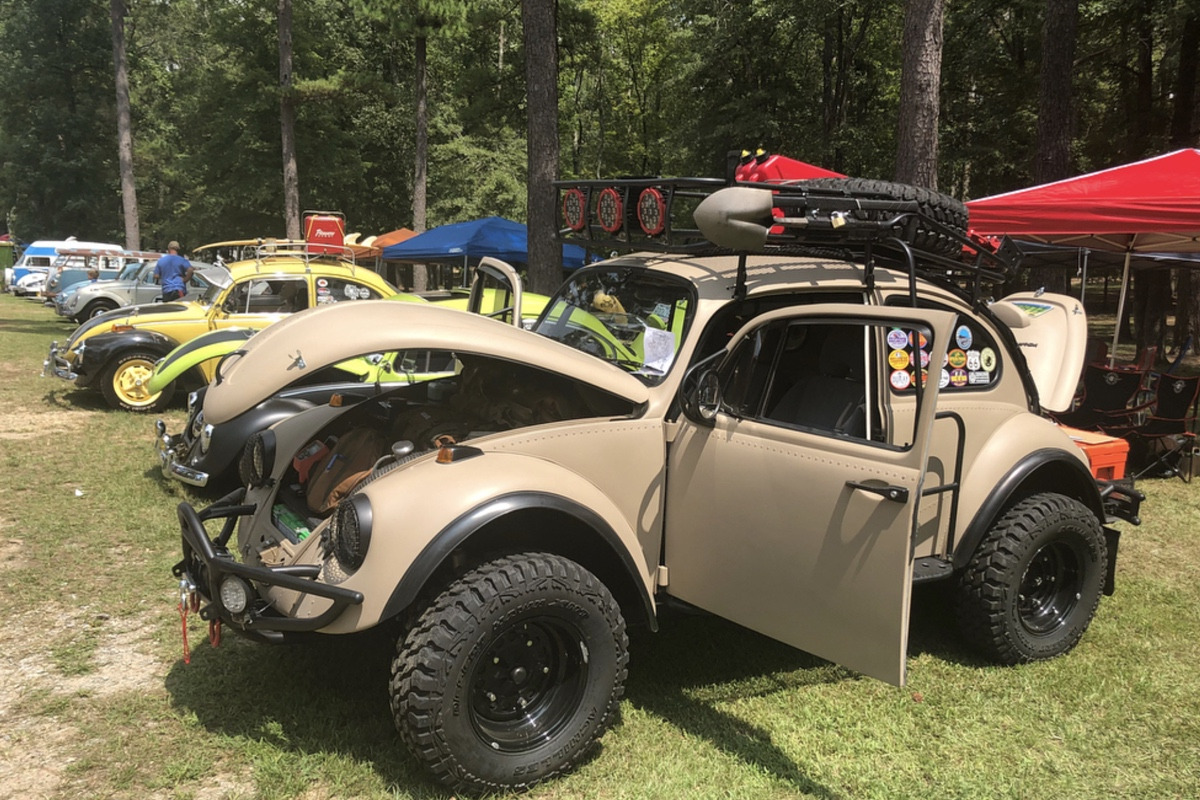 This One Of A Kind Vw Bug Was Built For The Dirt